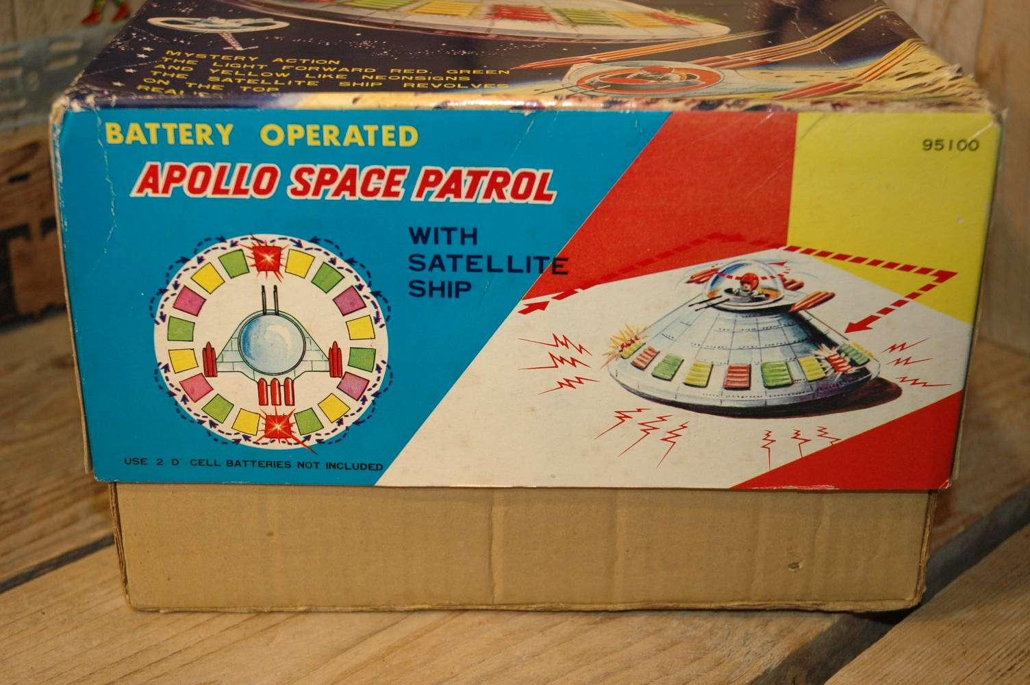 TPS - Apollo Space Patrol X-7