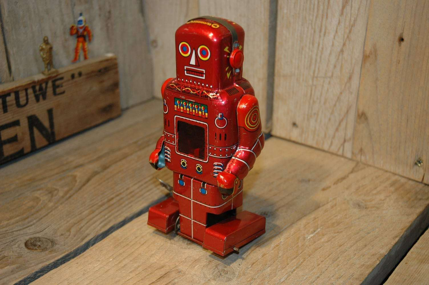 Yoneya SY - Mechanical Robot with Spark