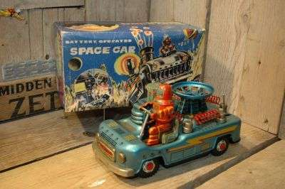 Yonezawa - Space Car FIRST version WITH original Box