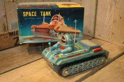 Beijing Toy No.1 Factory - Space Tank Salesman Sample