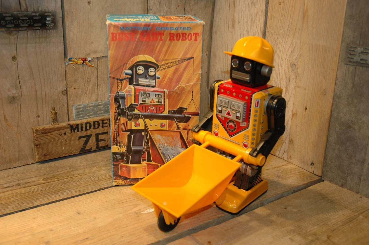 Horikawa - Busy Cart Robot Long feet version