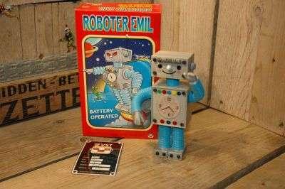 VST - Roboter Emil 3D Printed Blue Variation