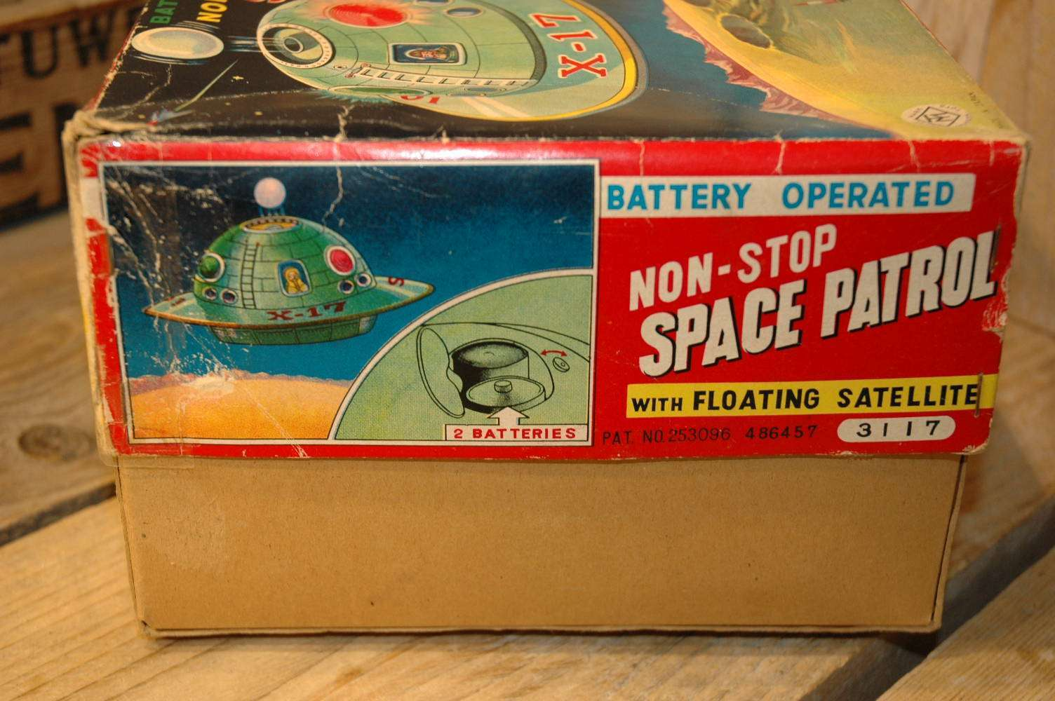 Modern Toys - Non Stop Space Patrol X-17