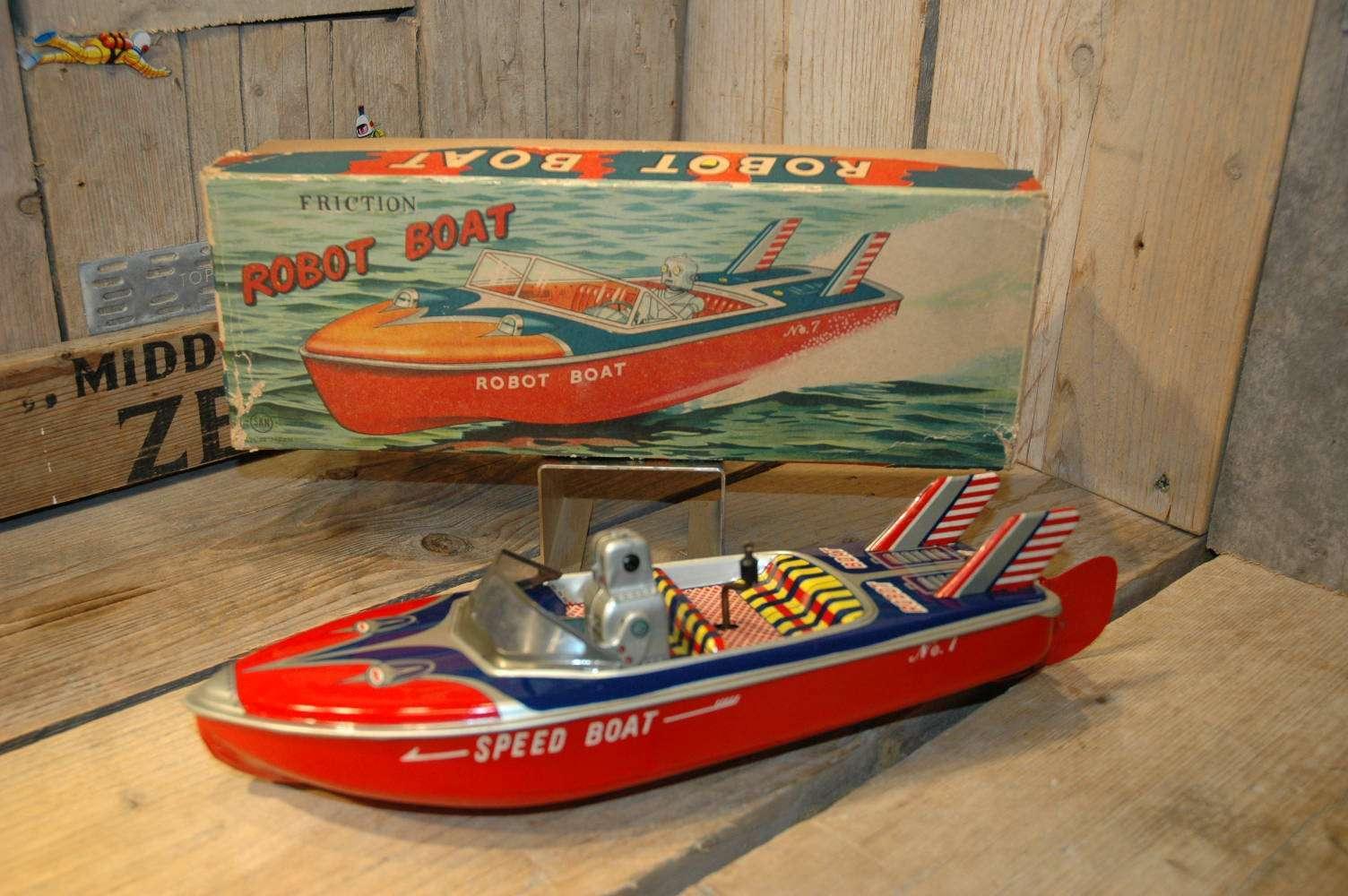SAN ( Marusan ) - Robot Boat No.7