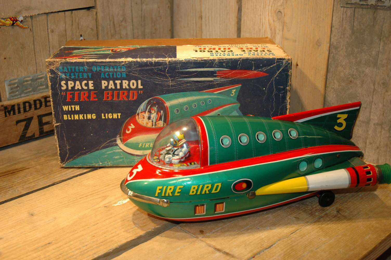 Modern Toys - Space Patrol Fire Bird 3