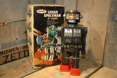 "Mego HongKong - Lunar Spaceman 12"" Robot"