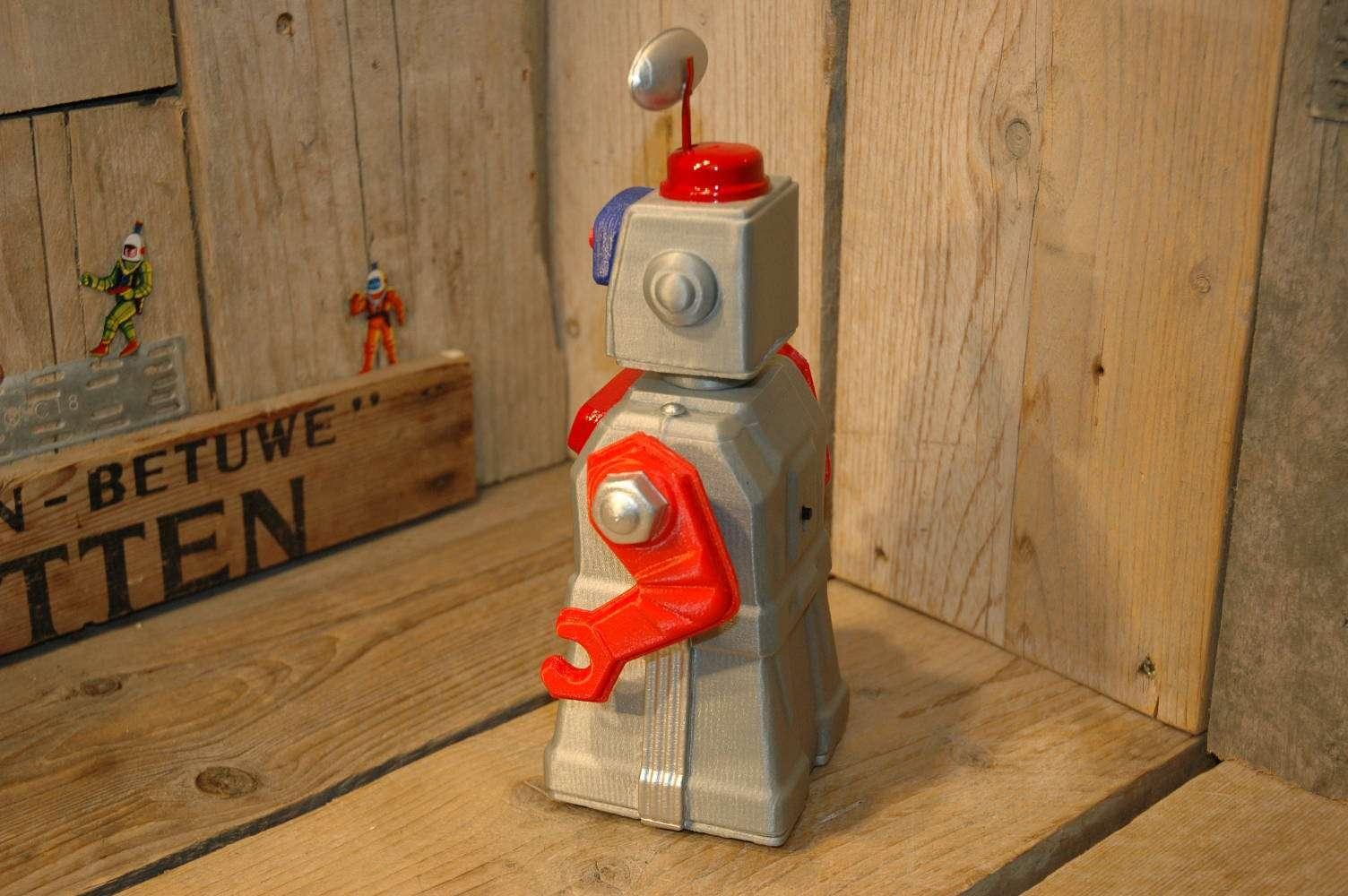 VST - Tremendous Mike 3D Printed Robot Grey Variation
