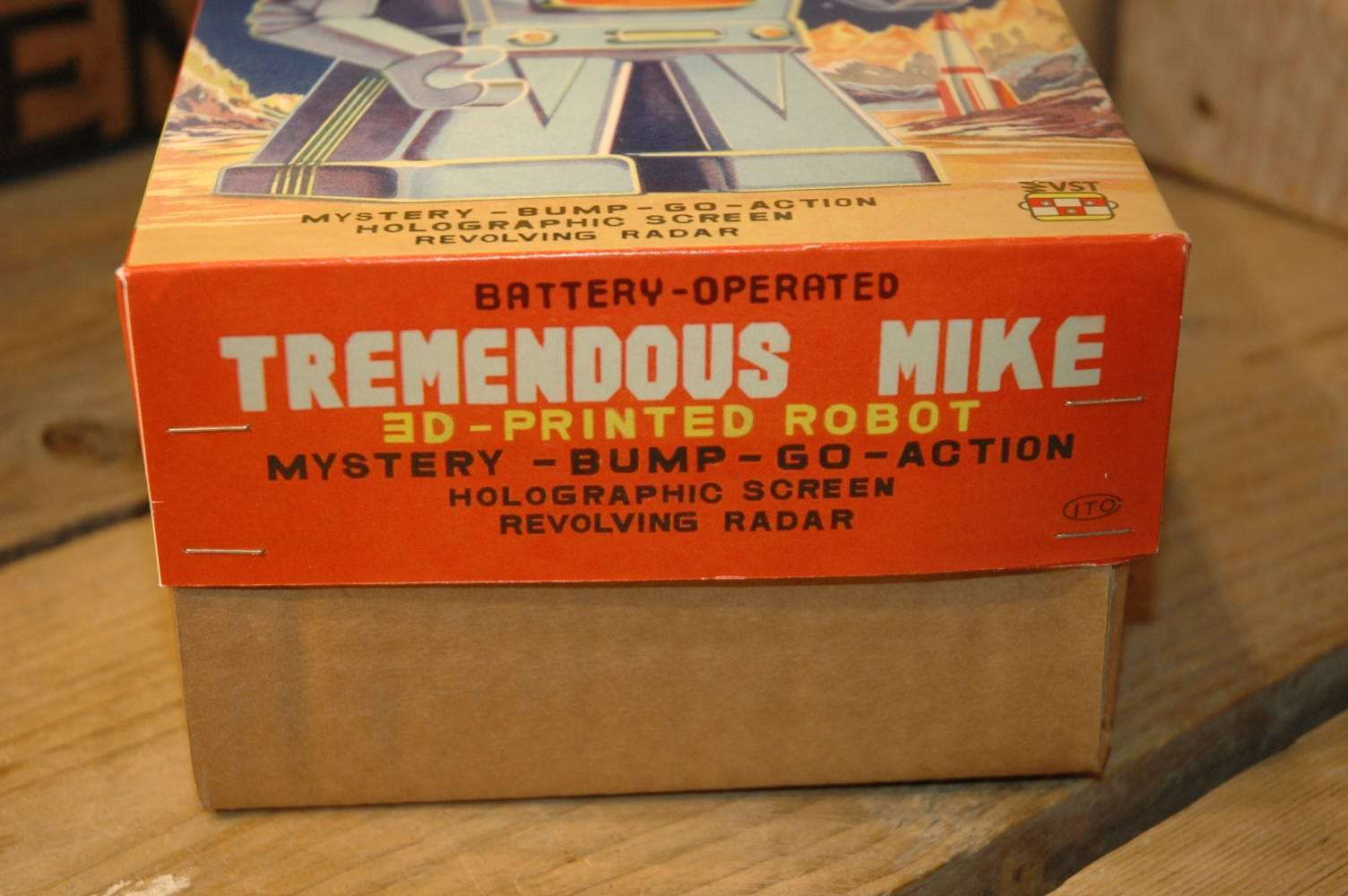 vst - tremendous mike blue variation