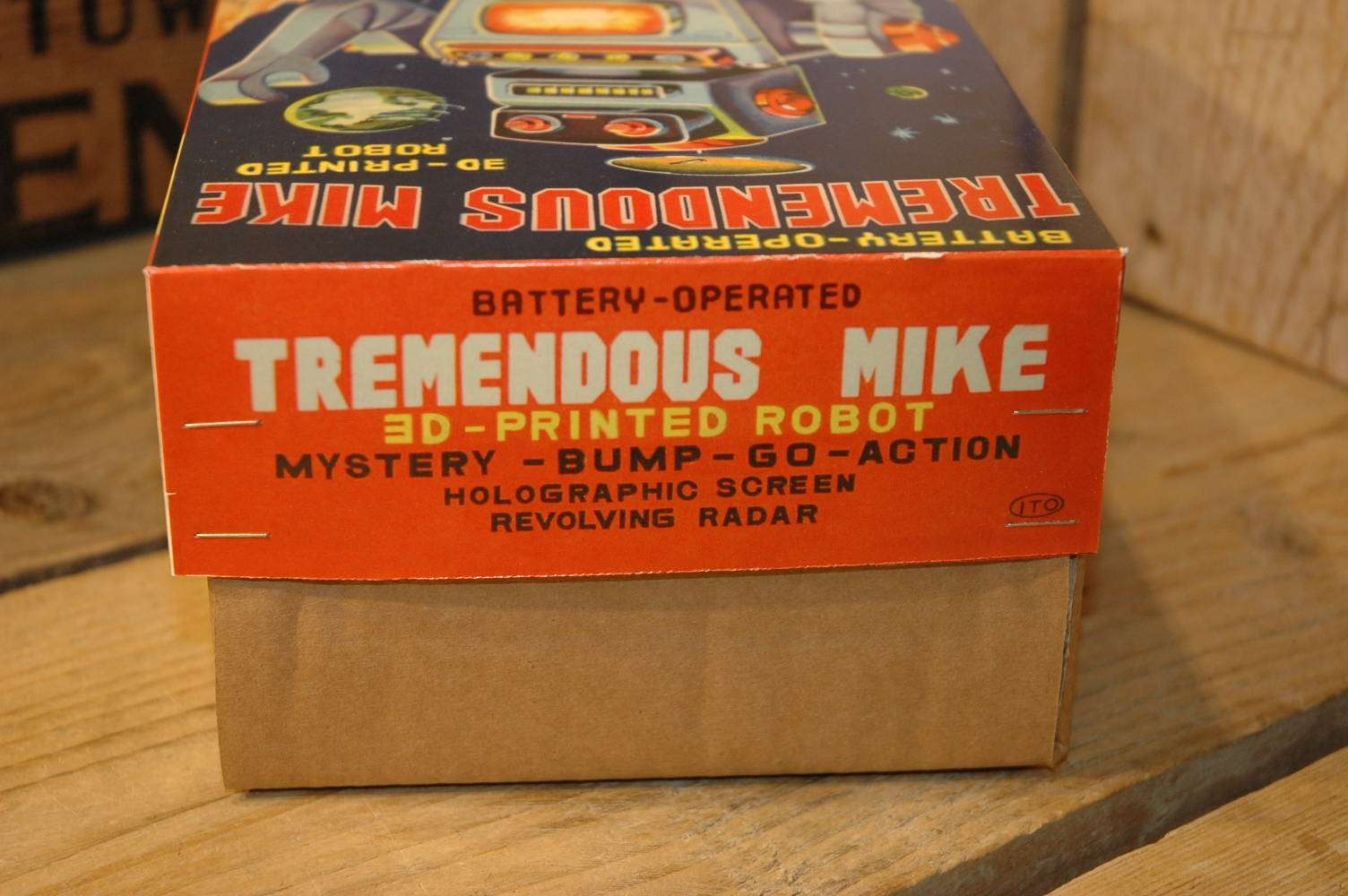 VST - Tremendous Mike 3D Printed Robot Green Variation
