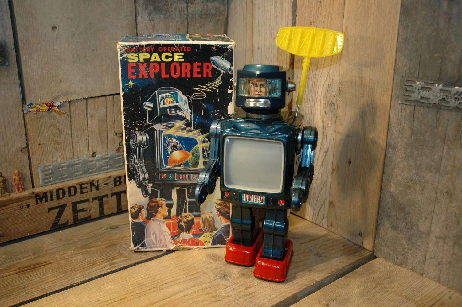 Horikawa SH - Space Explorer / Radar Robot