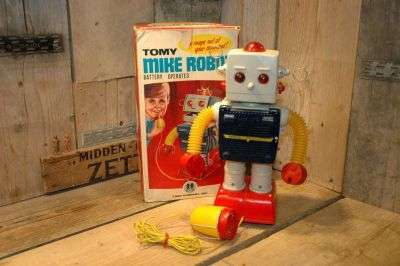 tomy - mike robot