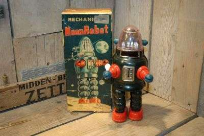 yonezawa - Mechanical Moon Man aka ribbonhead robby