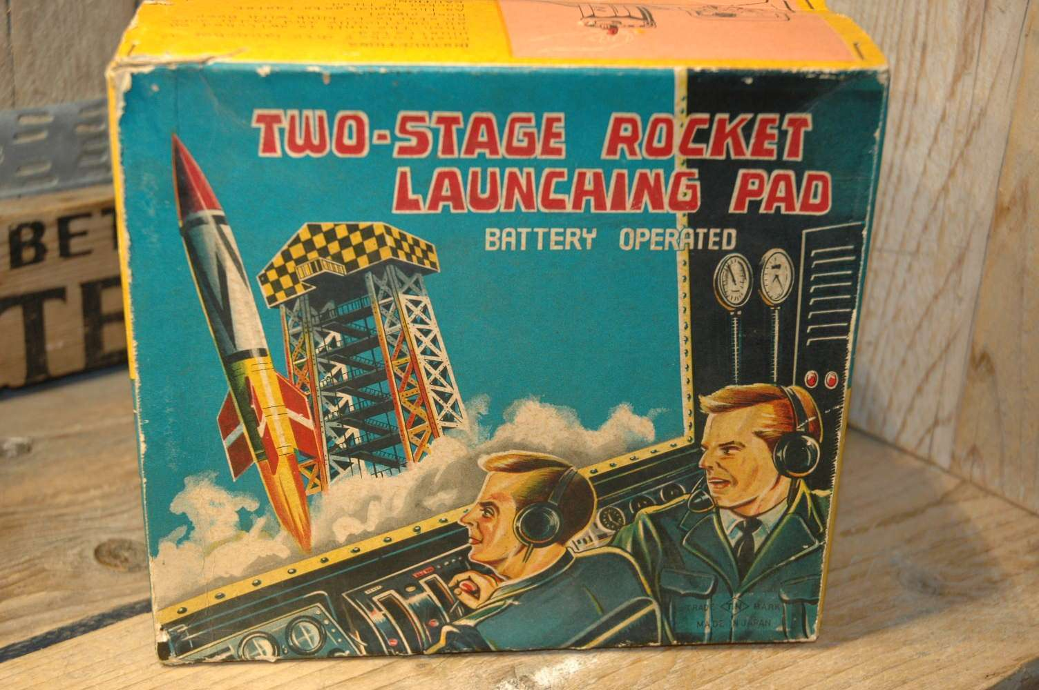 nomura - two stage rocket launching pad