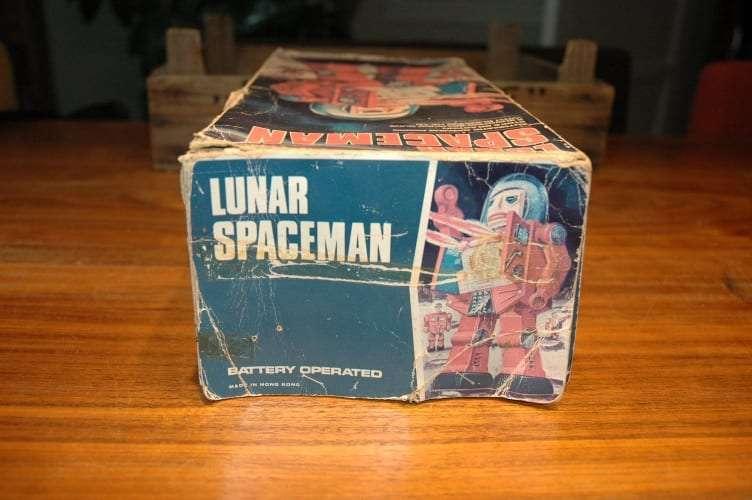 Hong Kong - Lunar Spaceman Golden Variation