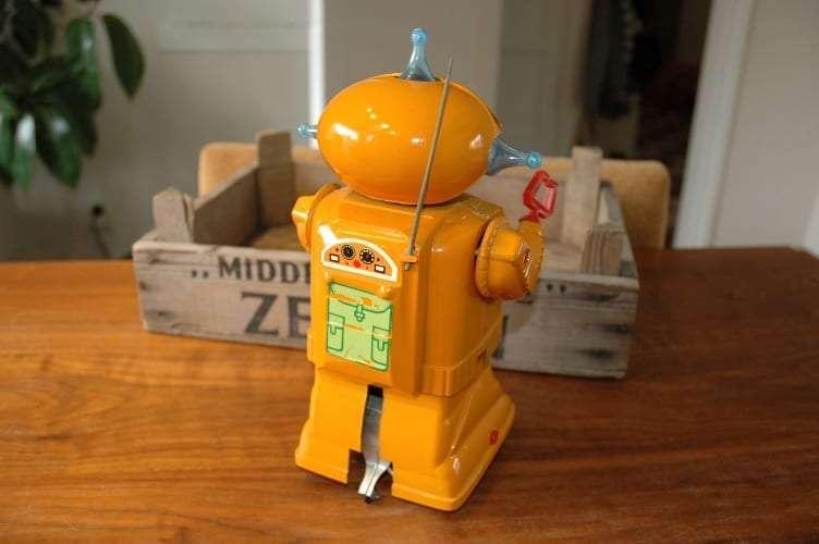 Paya - Robot a Resorte Orange variation