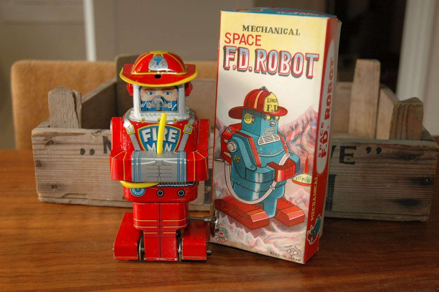 SY - Space F.D. Robot