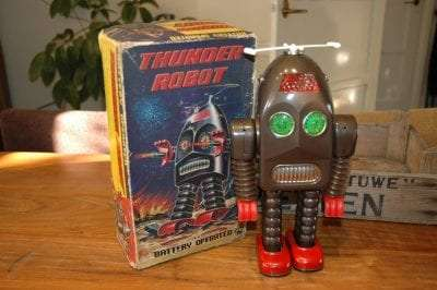 Asakusa - Thunder Robot Prototype / first test run