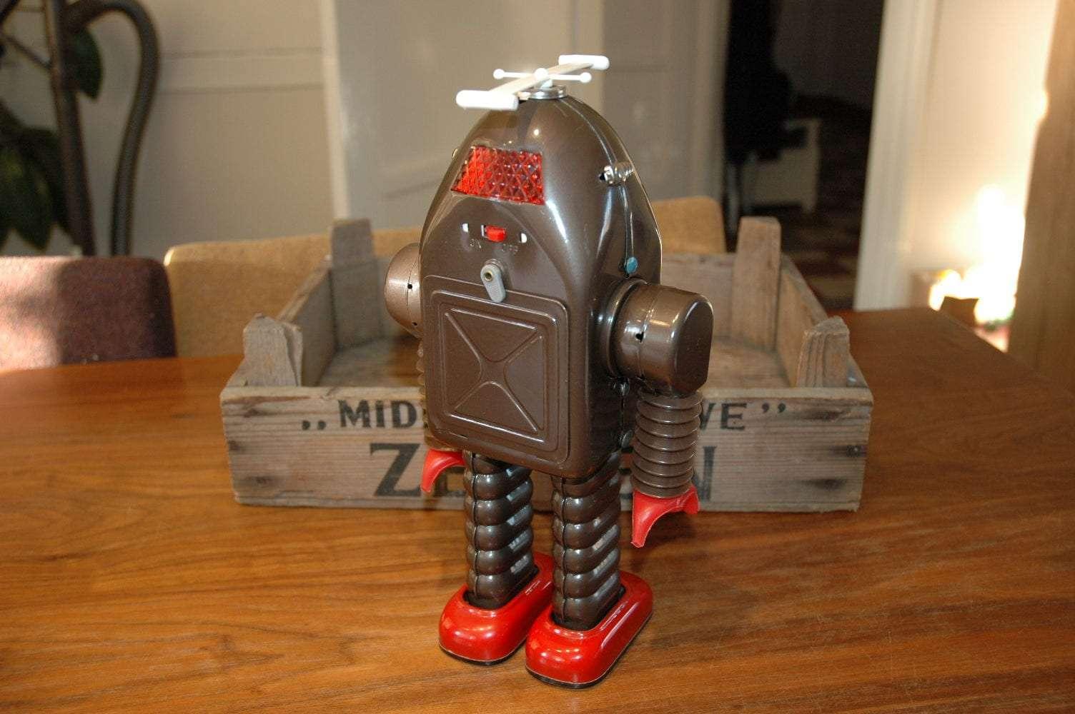 Asakusa - Thunder Robot Prototype / first test run