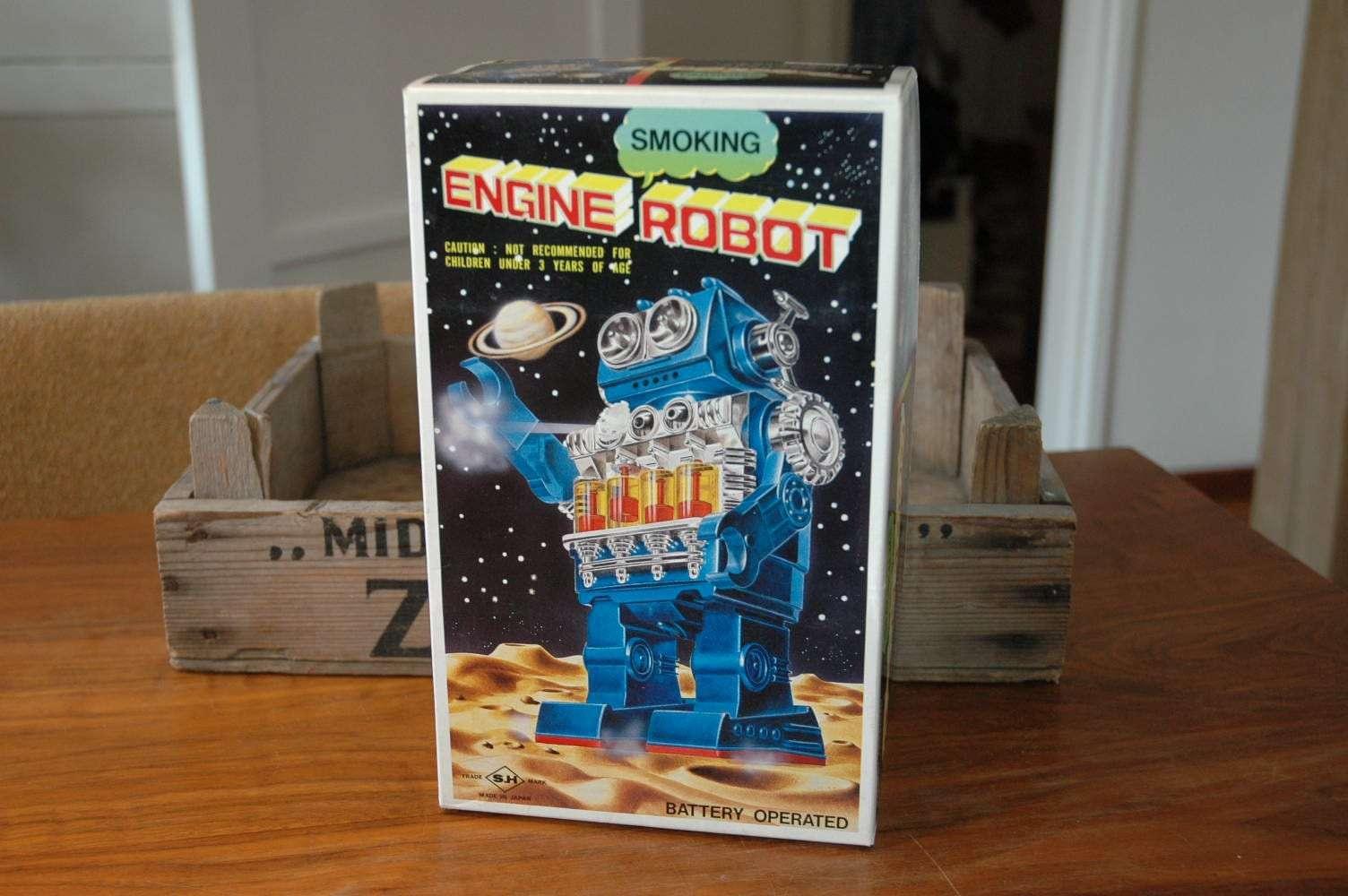 Horikawa - Smoking Engine Robot