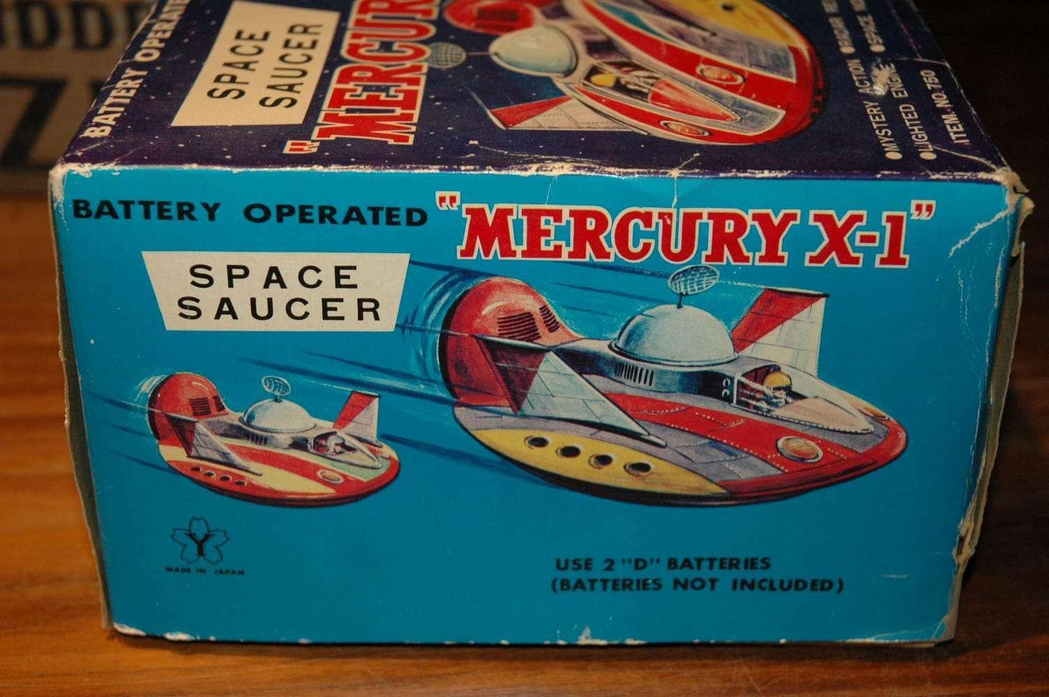 Yonezawa - Mercury X-1 Flying saucer