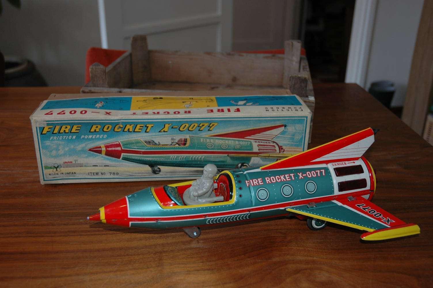 Yonezawa - Fire Rocket X-0077