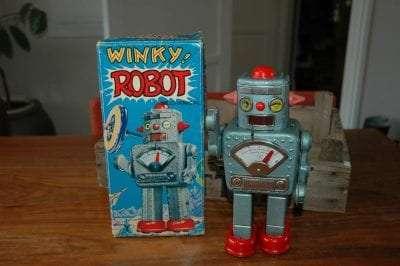Yonezawa - Winky Robot Blue Variation