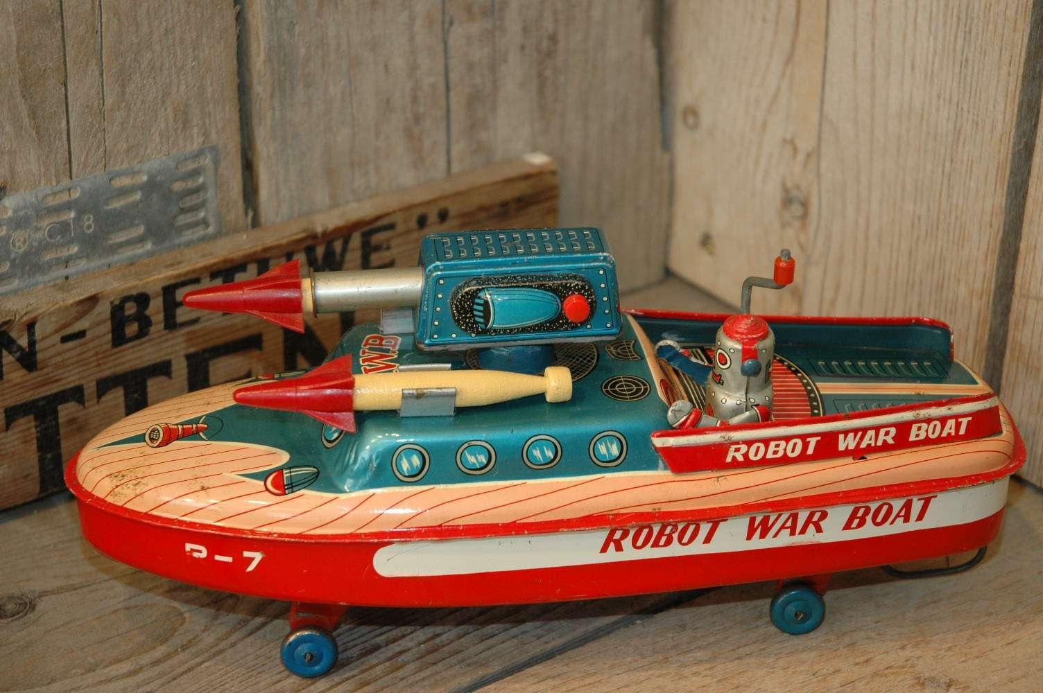 ASC - Robot War Boat R-7
