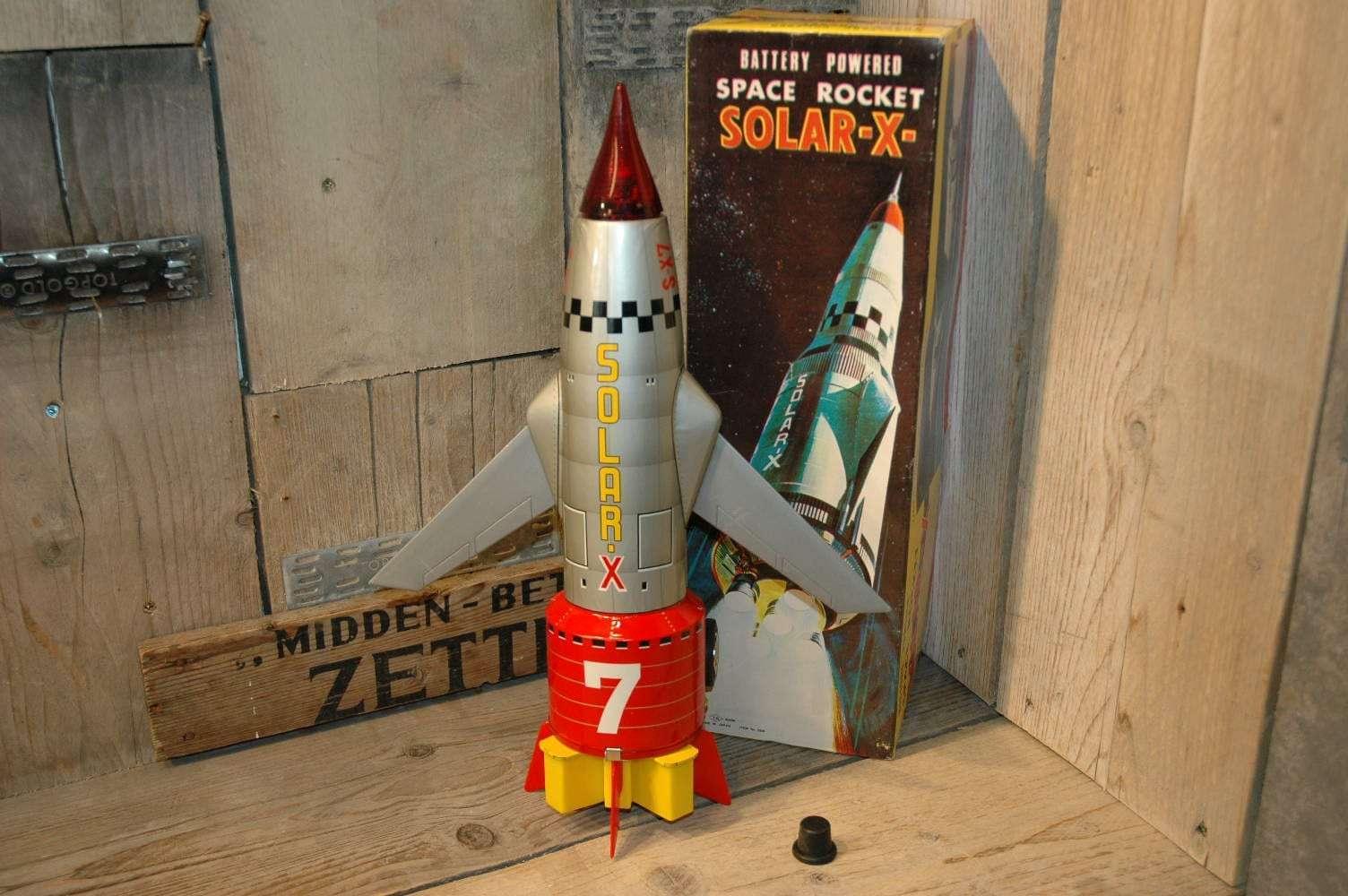 Nomura - Solar X Space Rocket