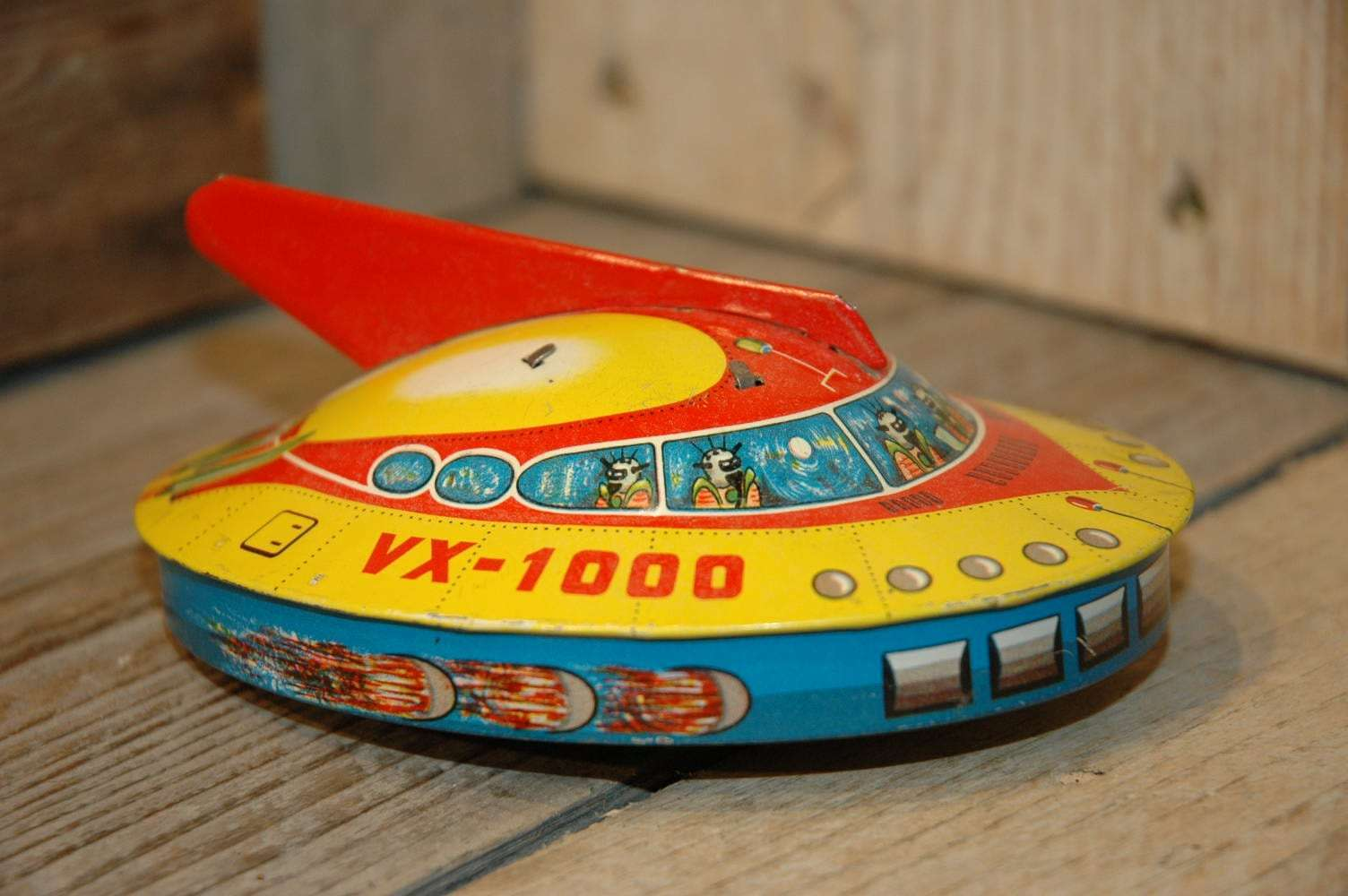 Western Germany - VX1000 Flying Saucer