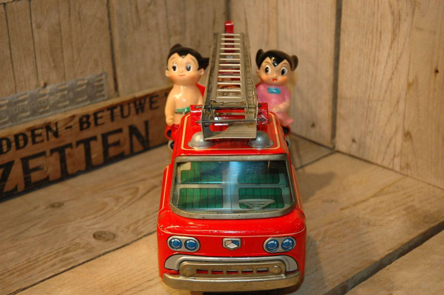 Yonezawa - Atom Boy Fire Department Truck