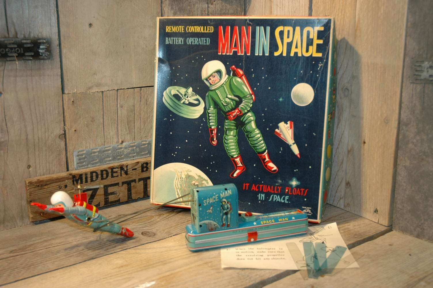 Alps - Man in Space