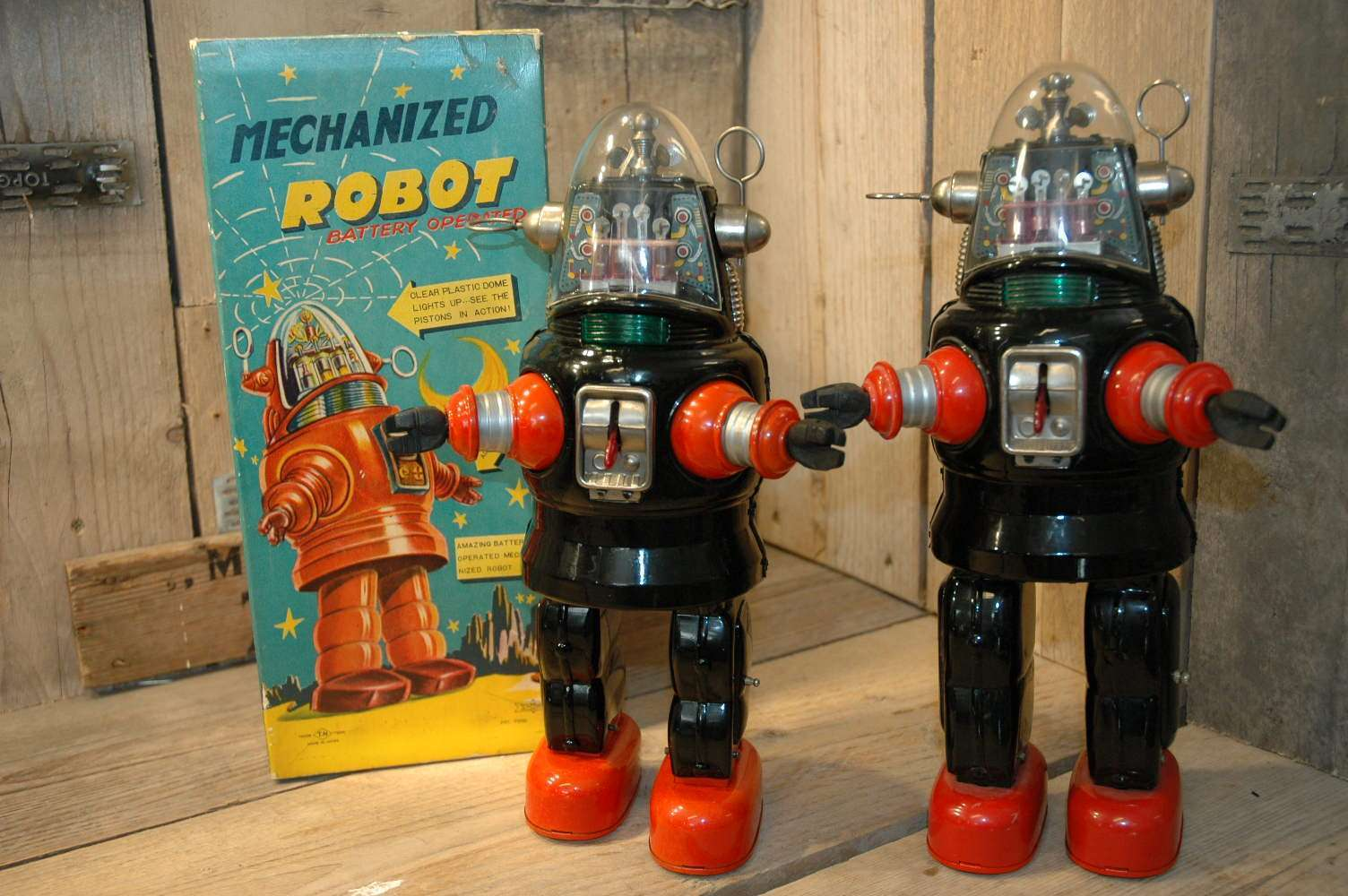 Nomura - Mechanized Robby Robot C-Cell Black