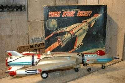 Nomura - Three Stage Rocket
