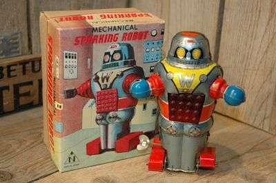 Noguchi - Mechanical Sparking Robot