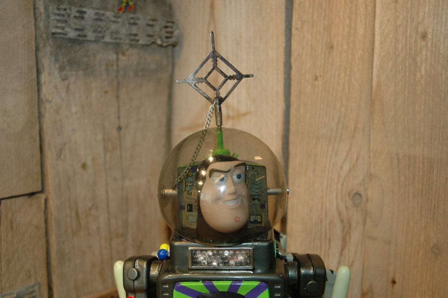 VST- Television Buzz Lightyear II - Vintage Spacetoys