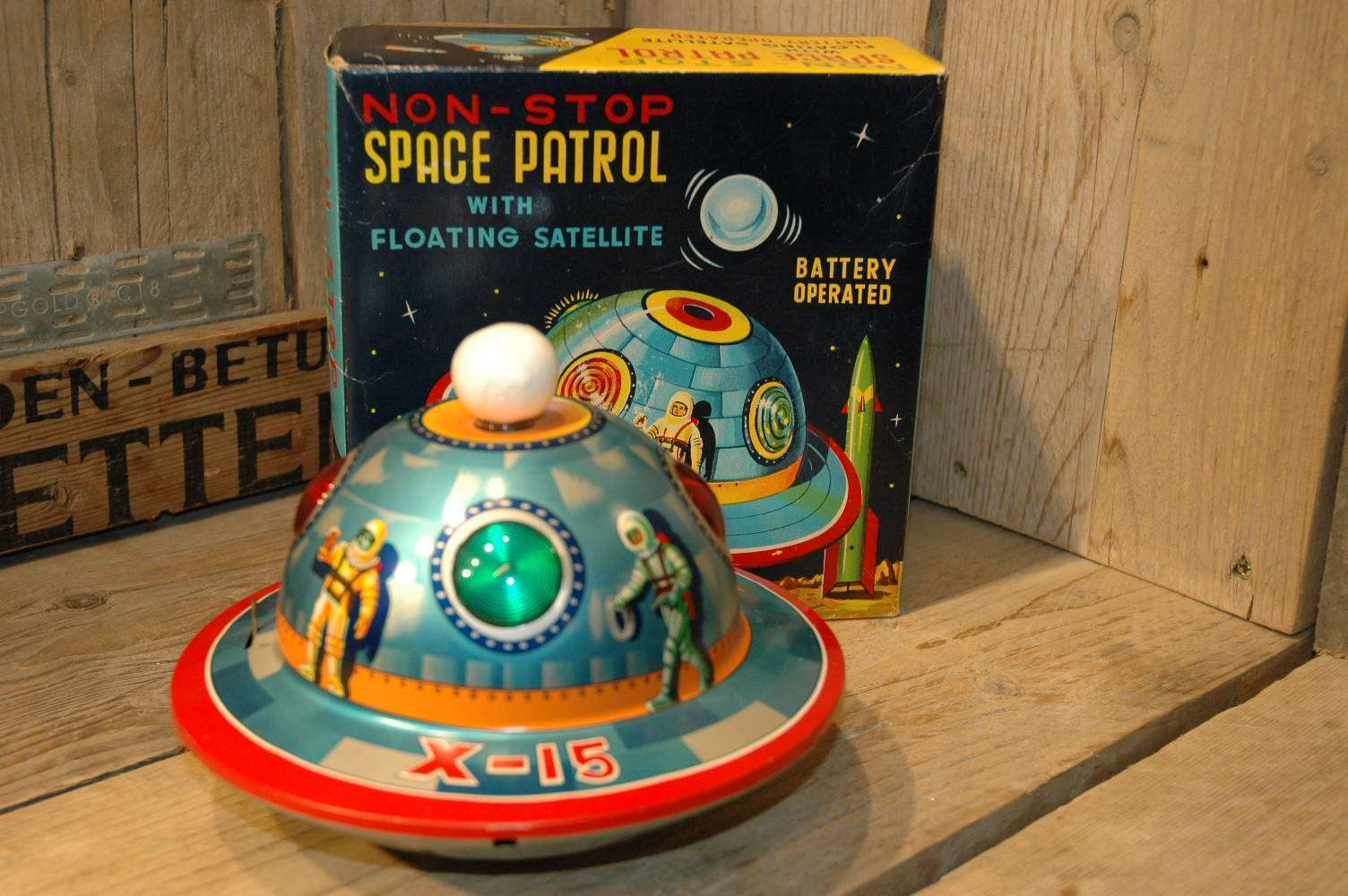 Modern Toys - Space Patrol X-15 Rare Variation