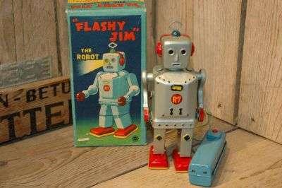 SNK Sankei - Flashy Jim  The Robot