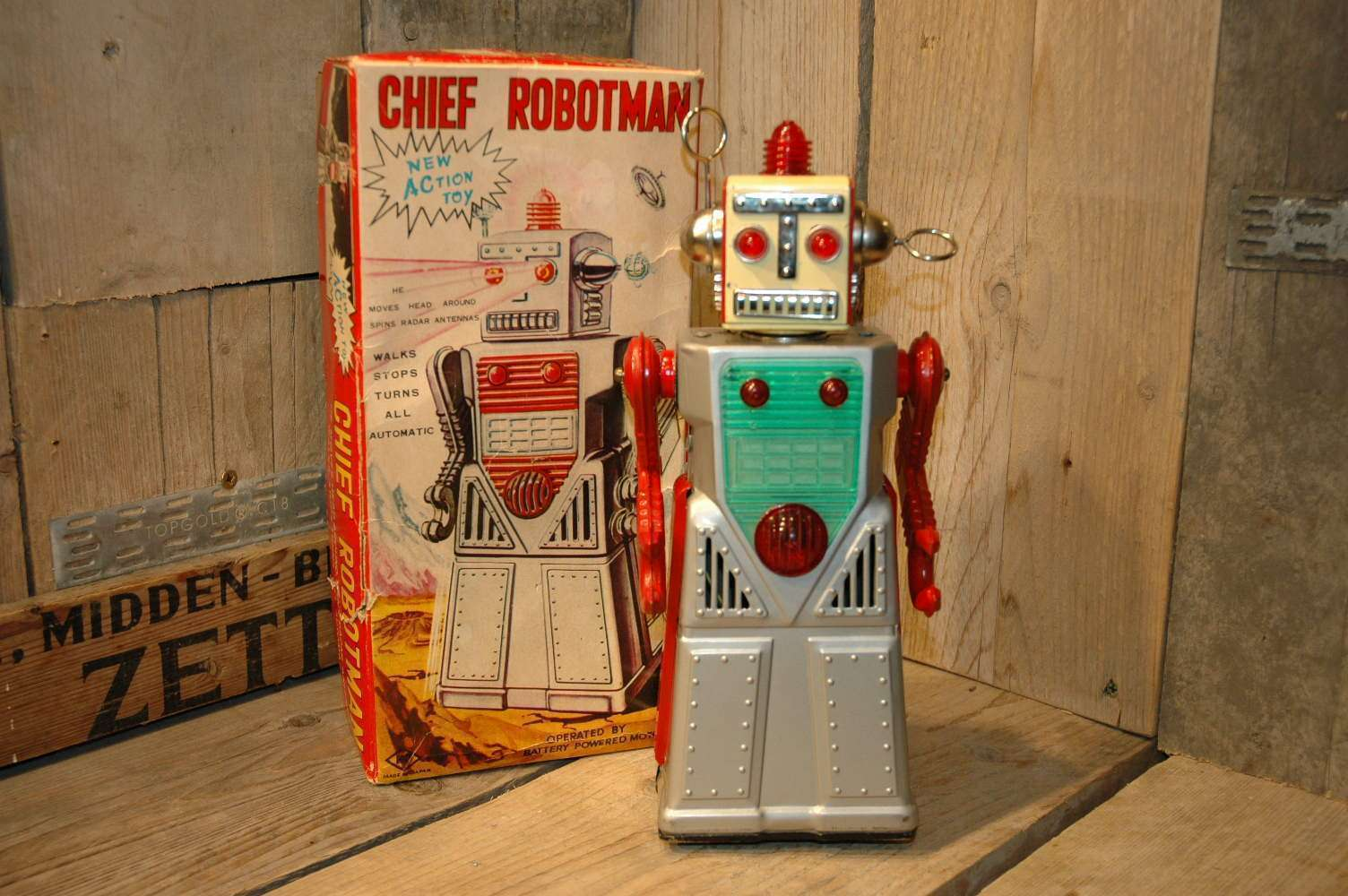 KO Yoshiya - Chief Robotman