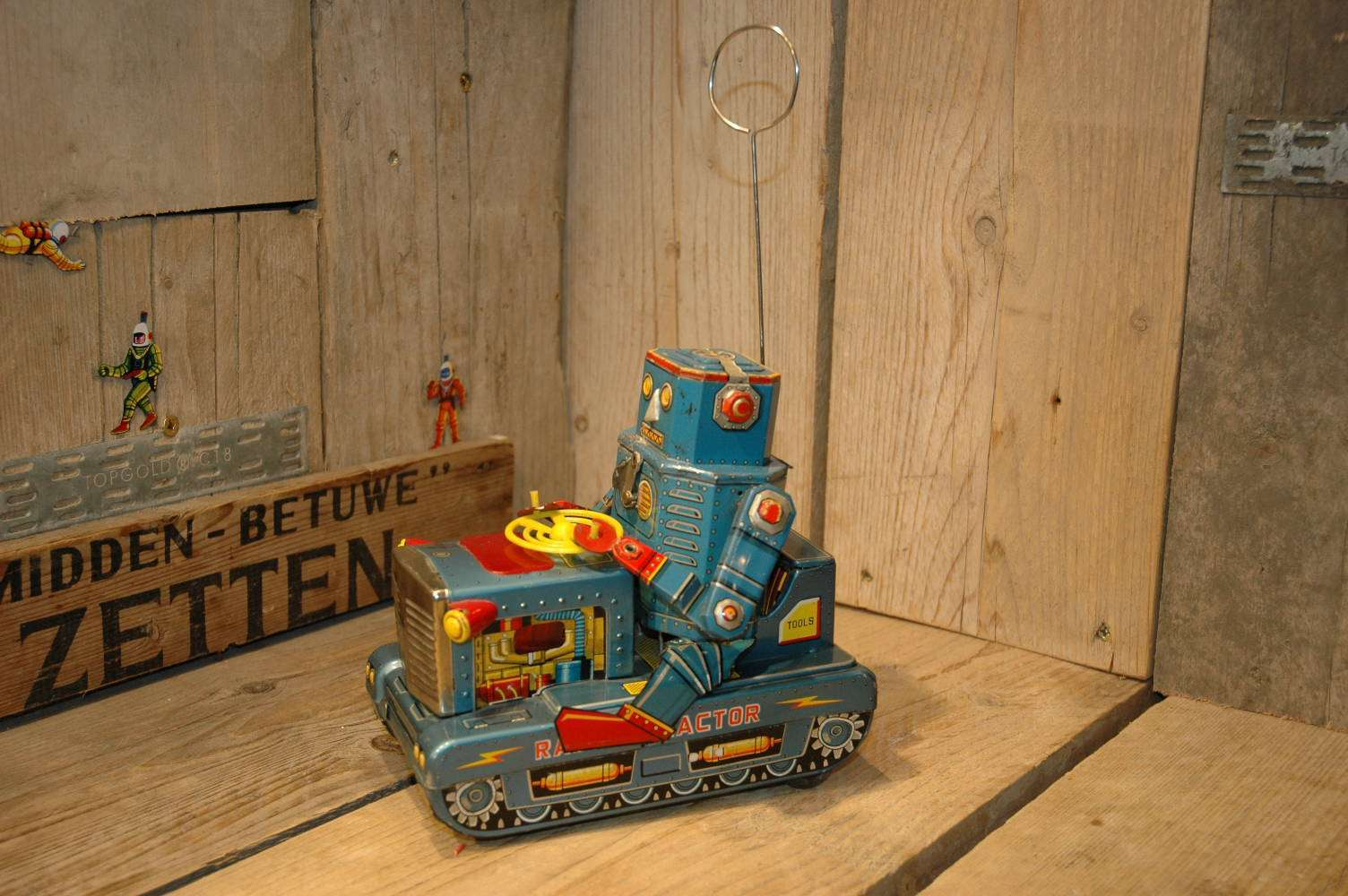 VST - Robot Radar Tractor X-9