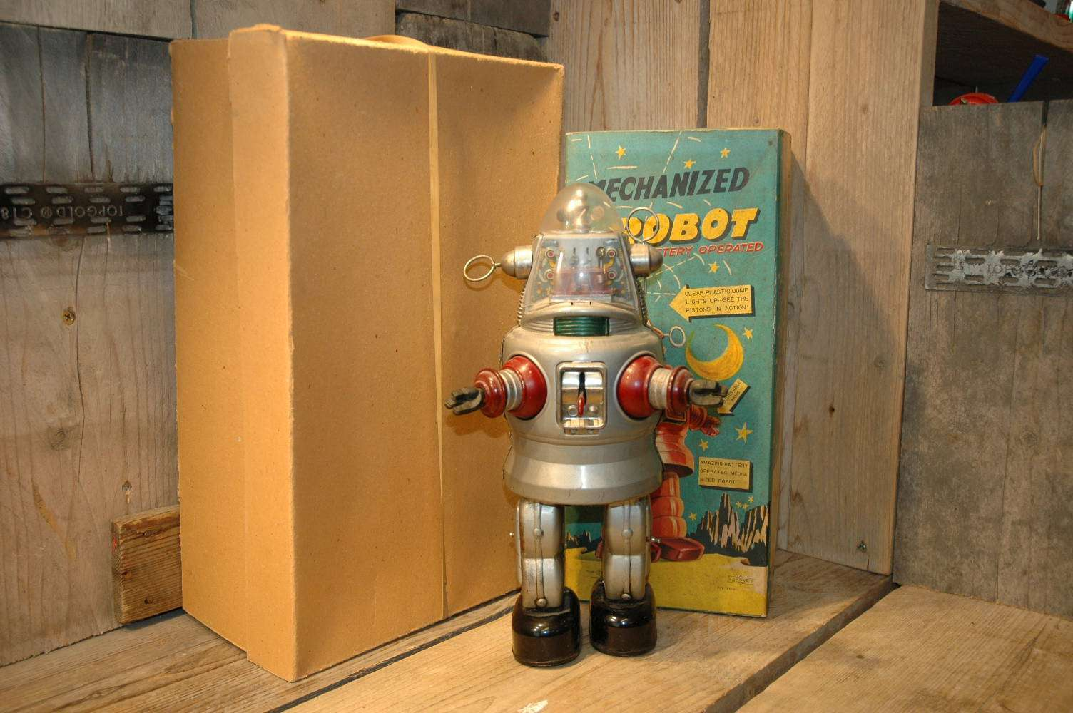 Nomura - Mechanized Robby Robot C-Cell Grey