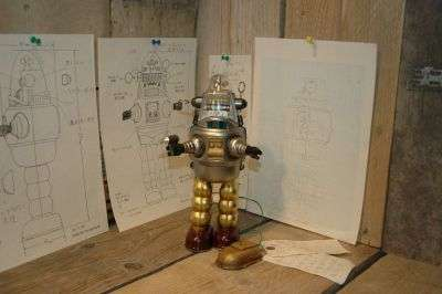 Osaka Tin Toy Institute - Robby the Robot Prototype