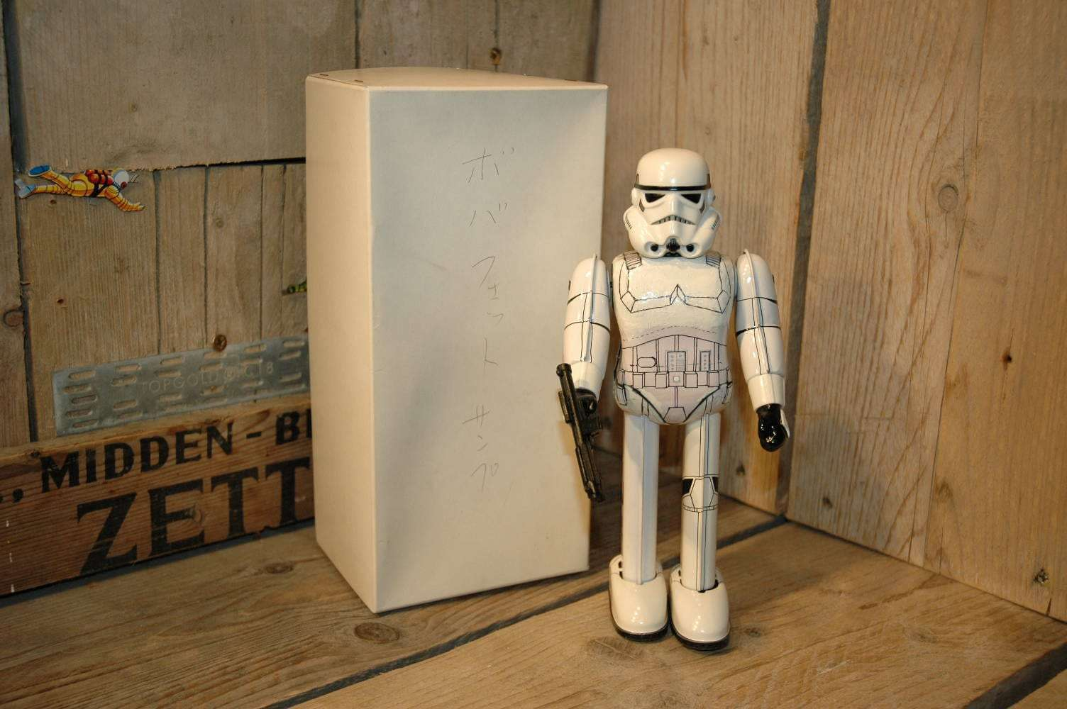 Osaka Tin Toy Institute - StormTrooper Prototype StarWars