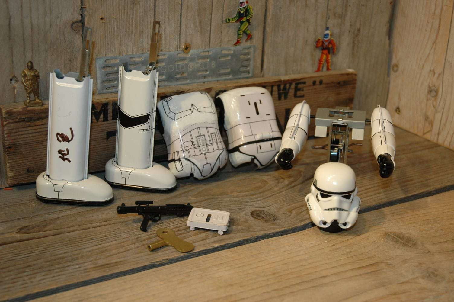 Osaka Tin Toy Institute - StormTrooper Prototype StarWars