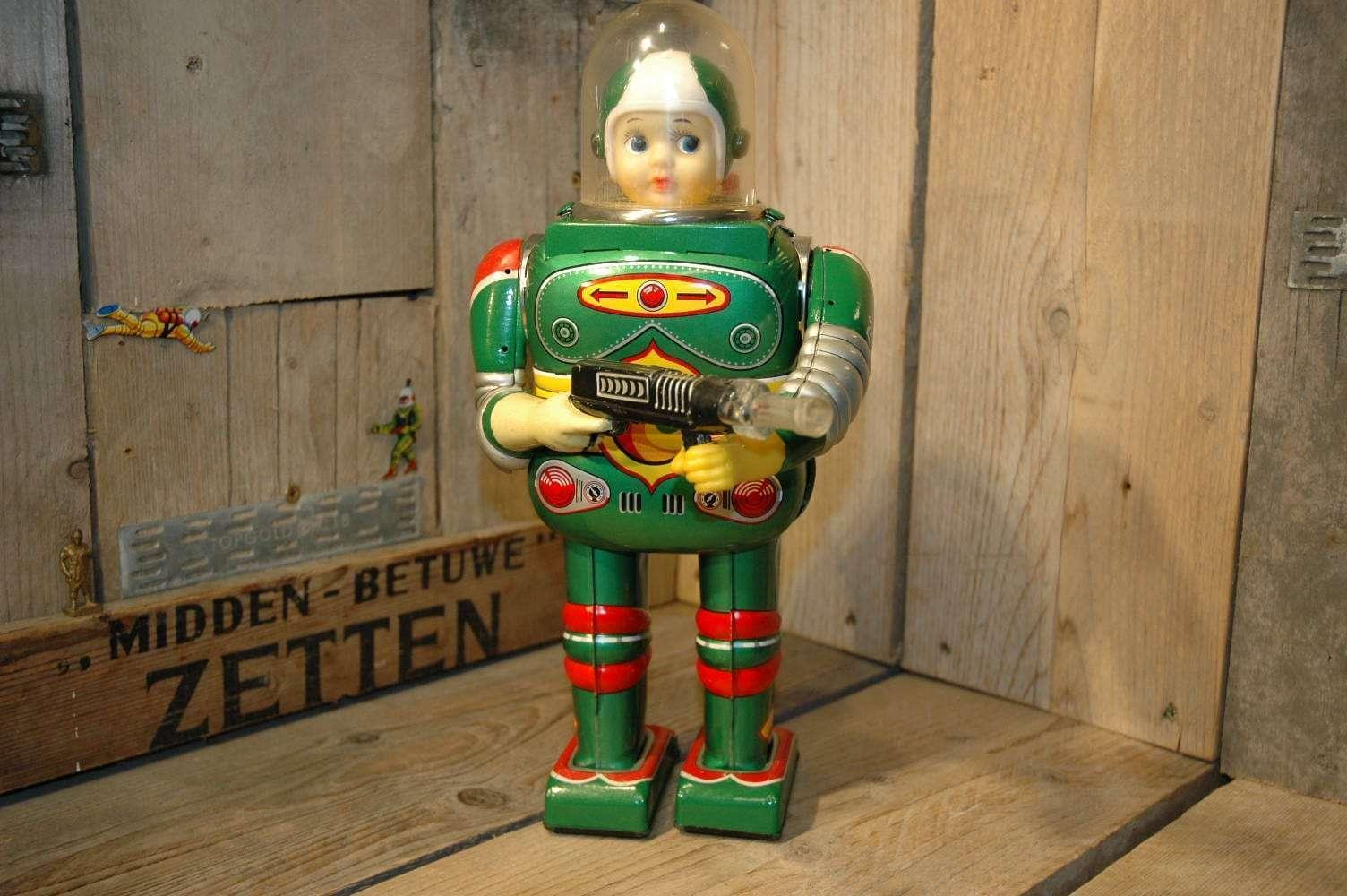VST / Daiya /SH - Cragstan Astronaut Green Variation Boys Head