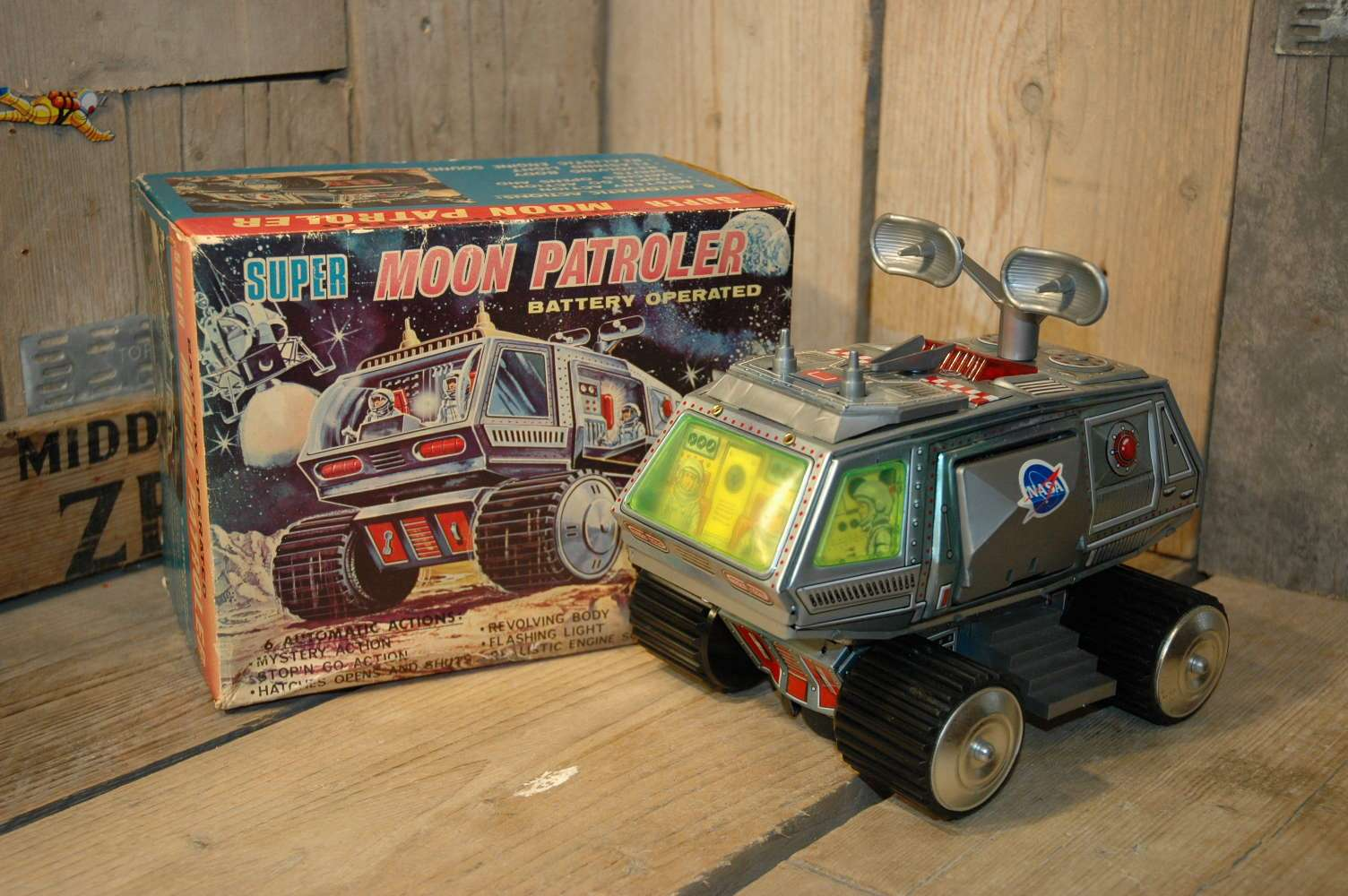 Junior Toys - Super Moon Patroler