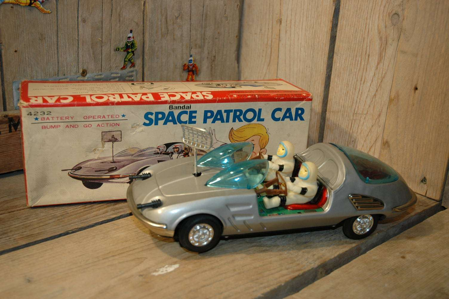 Bandai - Space Patrol Car