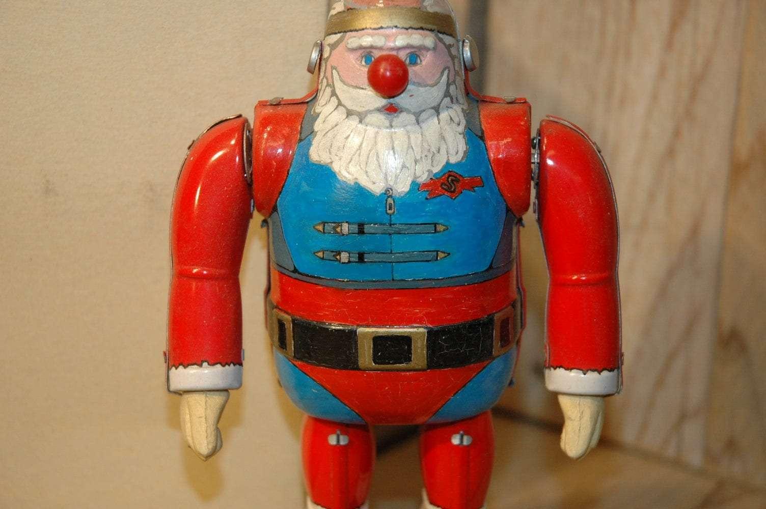 Osaka Tin Toy Institute -Santa Claus Hand painted Prototype