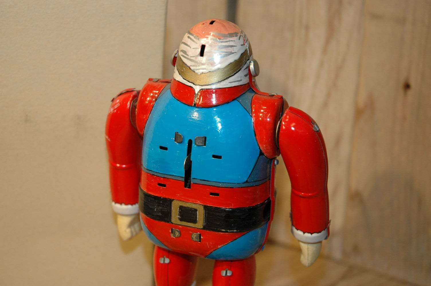 Osaka Tin Toy Institute - Santa Claus Hand painted Prototype