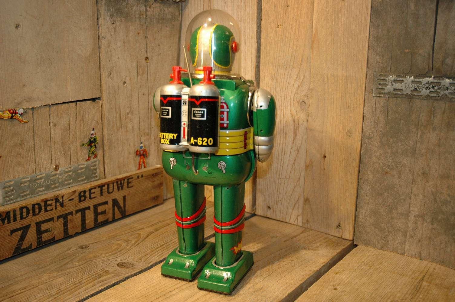 VST / Daiya / SH - Cragstan Astronaut Green Variation Astronaut Head
