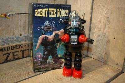 Osaka Tin Toy Institute - Robby The Robot     Black variation
